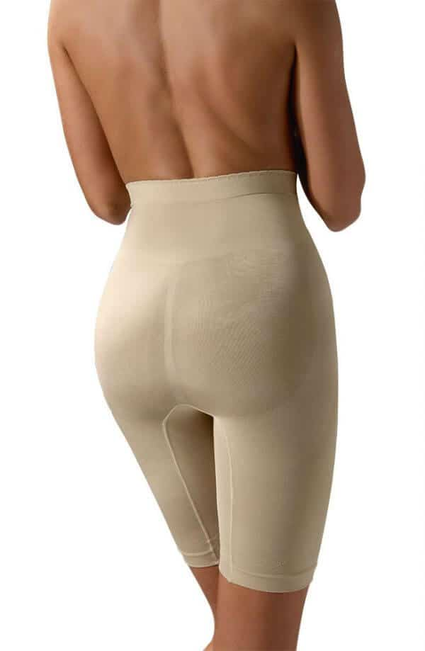 nude high support control shaping girdle from back