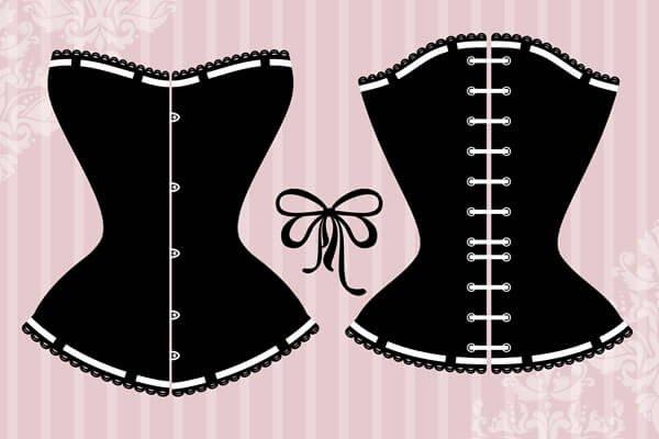 Plus size corset