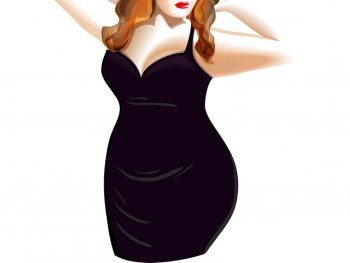 plus size illustration