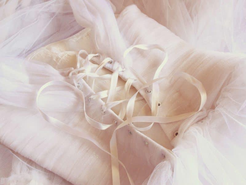 cream corset